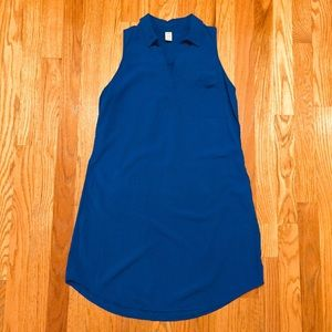 Old Navy Royal Blue Tunic Blouse